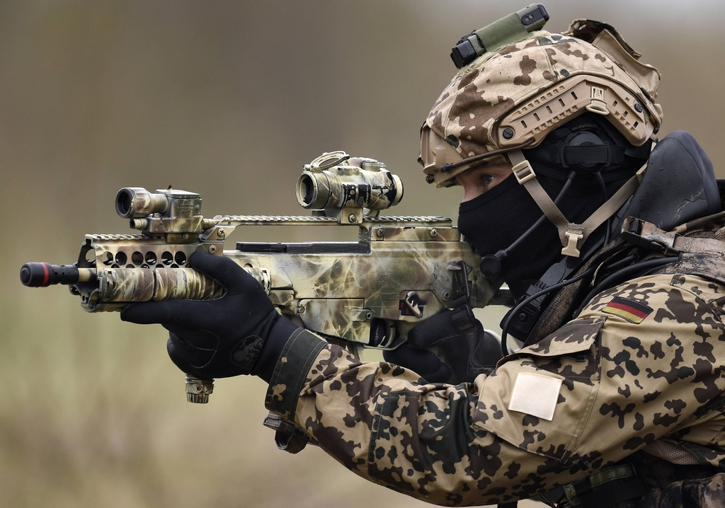 G36C de las fuerzas especiales alemanas