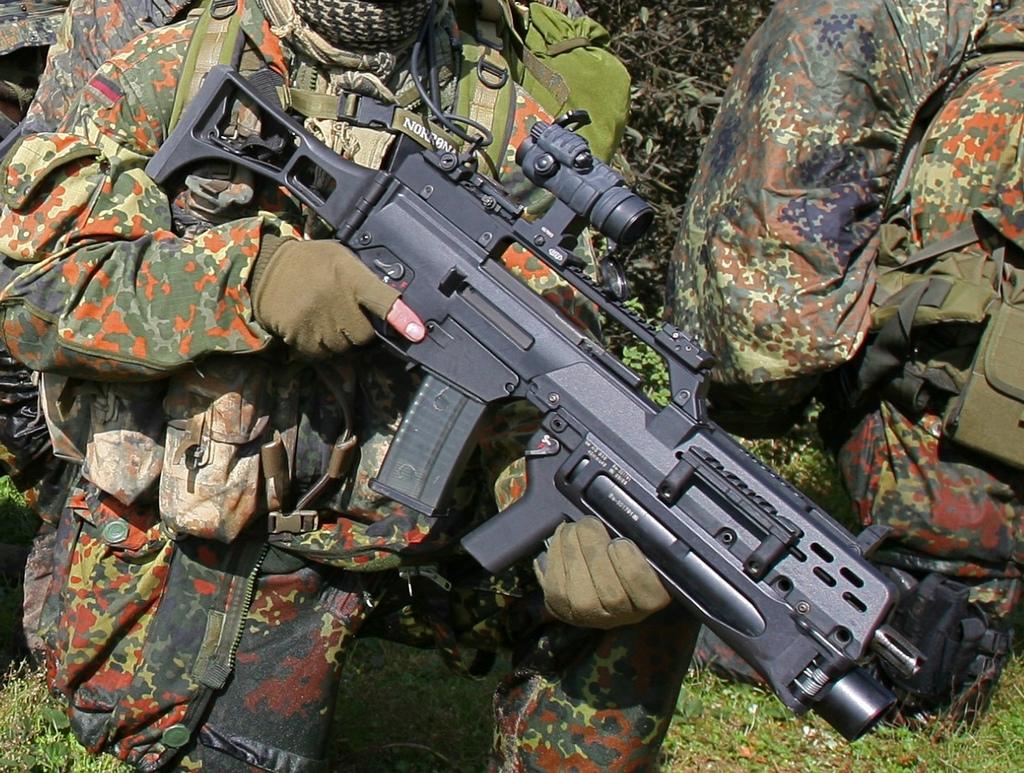 G36 del ejercito aleman