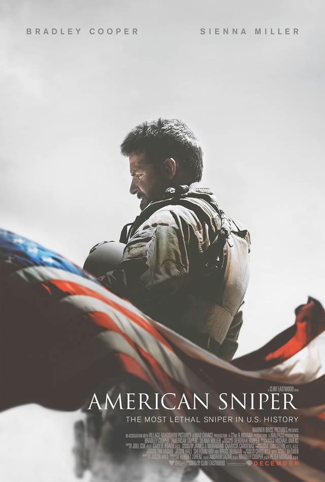 Cartel de la película American Sniper