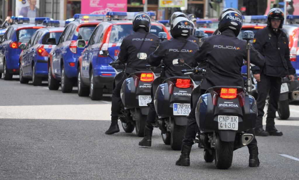 motoristas upr policia
