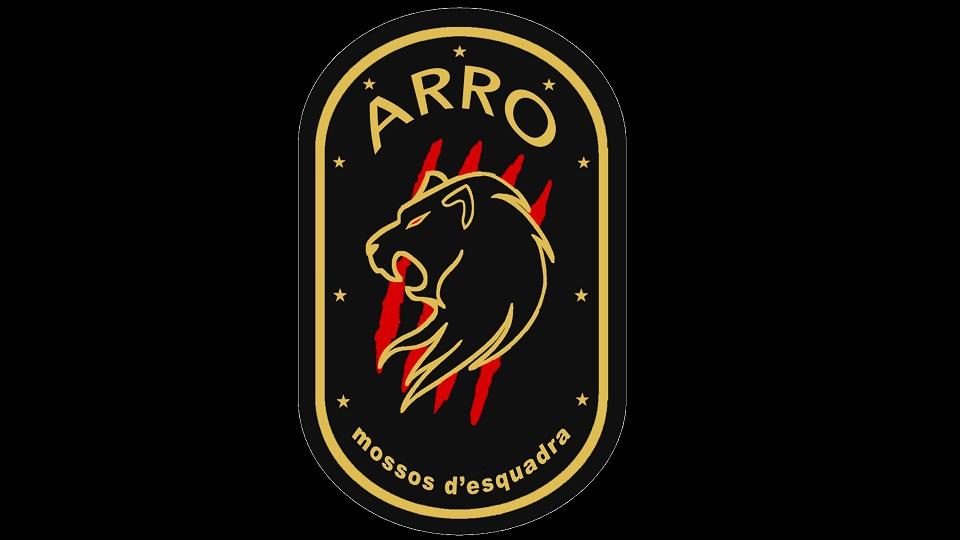 Escudo original del Arro de los Mossos d'Esquadra