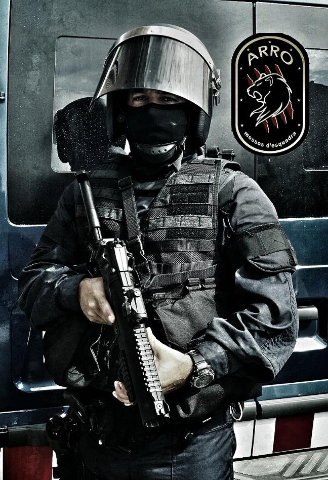 Operativo ARRO Mossos d'Esquadra