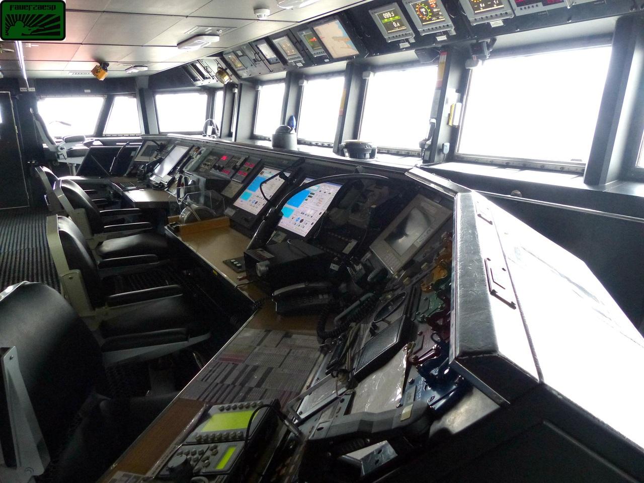 puesto de mando fragata