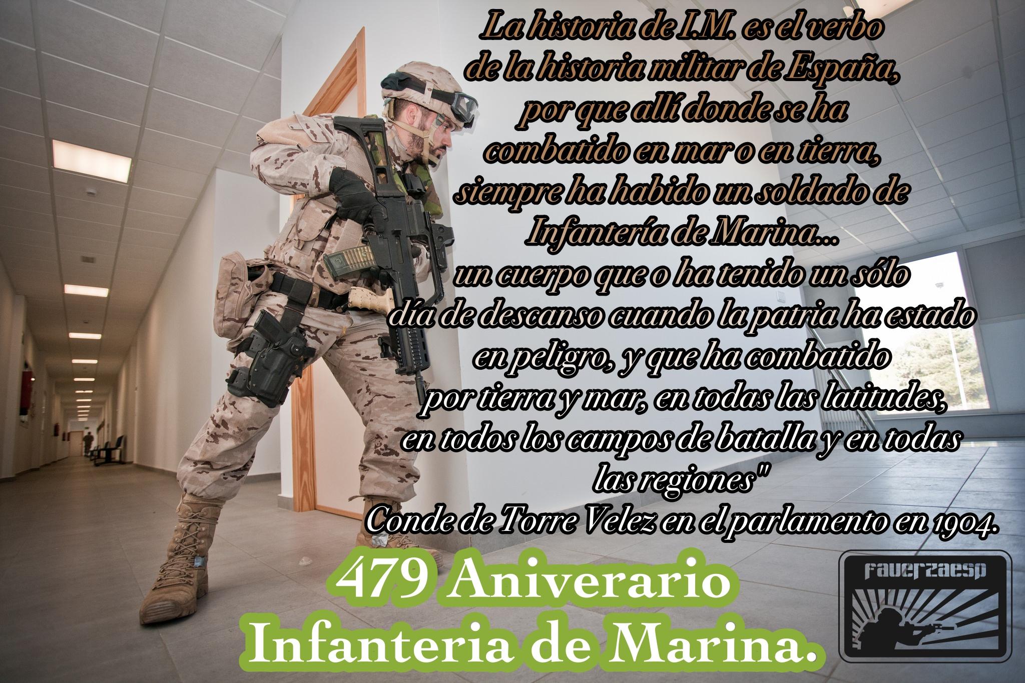 Aniversario Infanteria de Marina