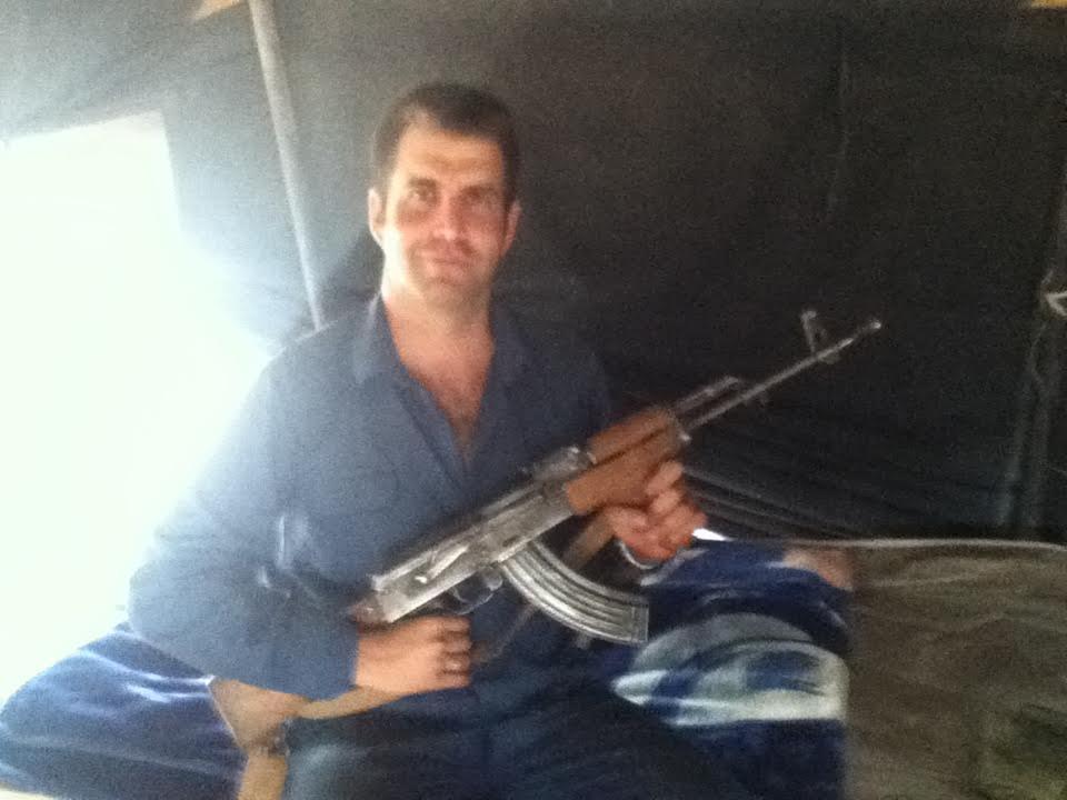 Médico en zona de conflicto